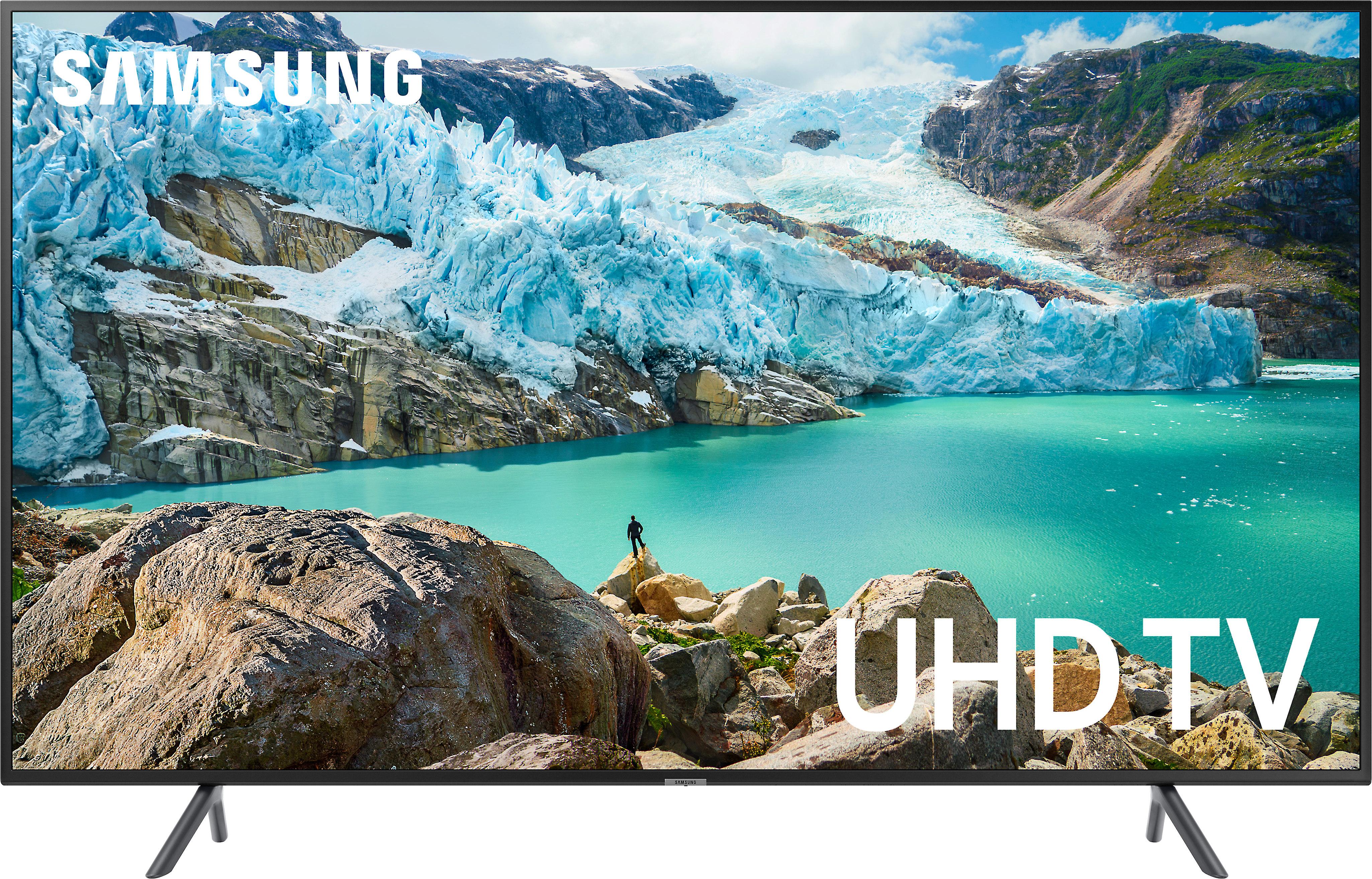Samsung 4K Ultra HD TVs at Crutchfield