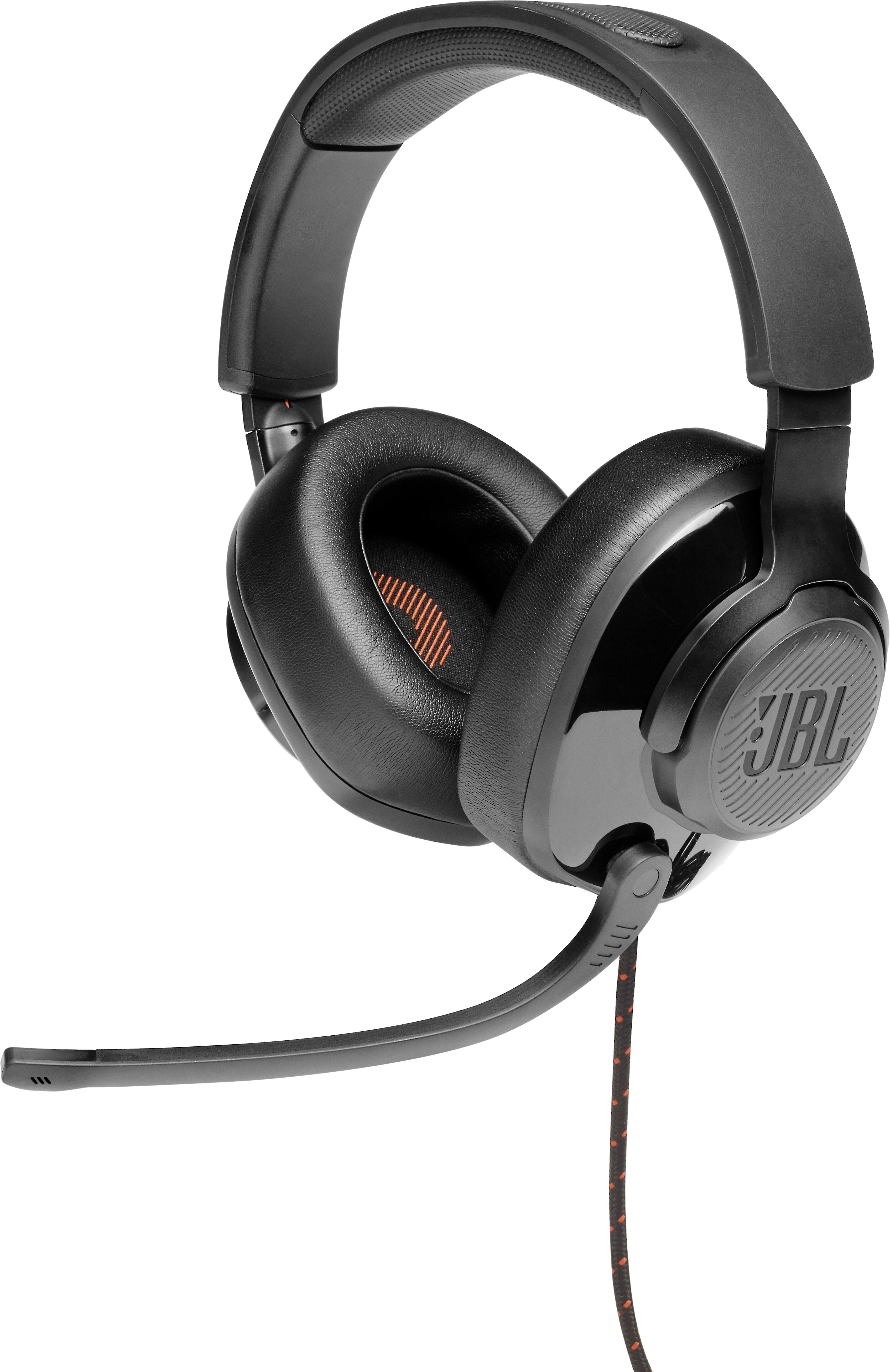 Jbl Quantum 200 Over Ear Wired Gaming Headset For Pc Playstation And Xbox At Crutchfield