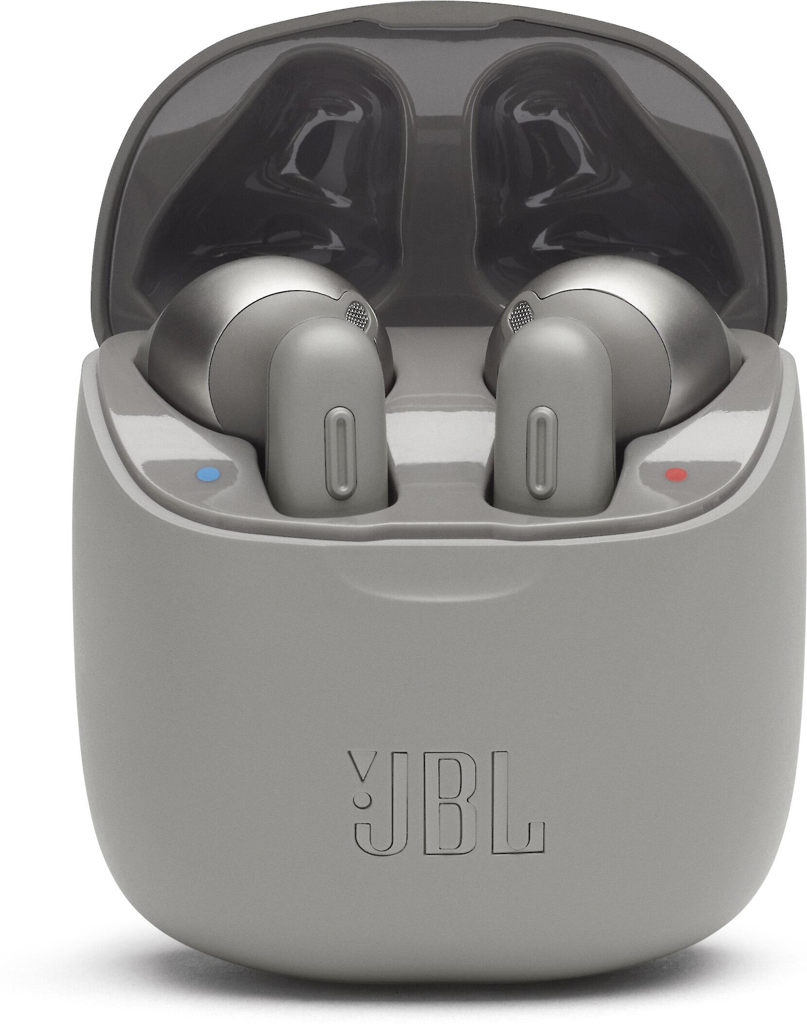 Jbl Tune 220tws Grey True Wireless Earbuds With Bluetooth 5 0 At Crutchfield