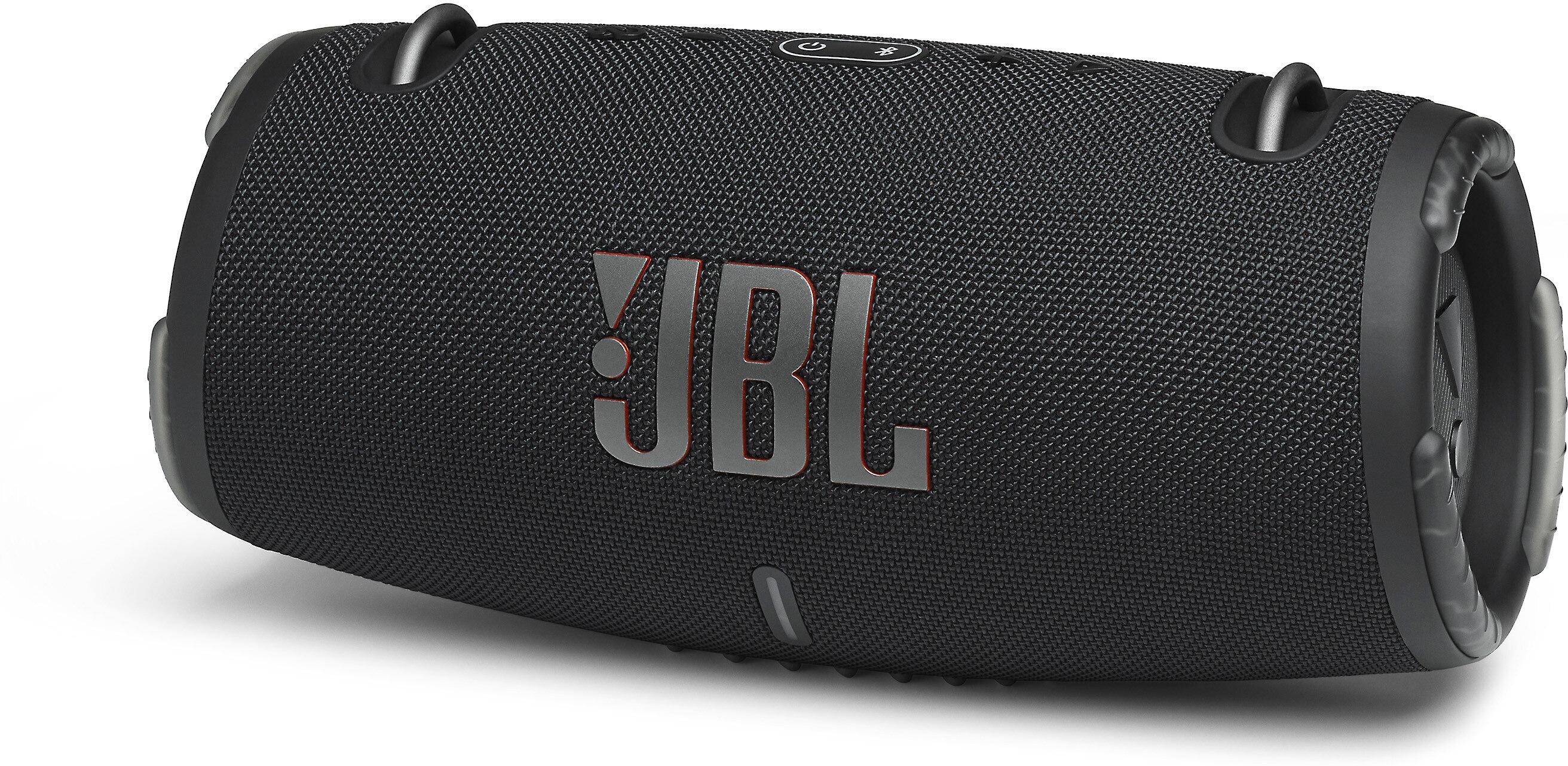 Jbl Xtreme 3 Black Waterproof Portable Bluetooth Speaker At Crutchfield