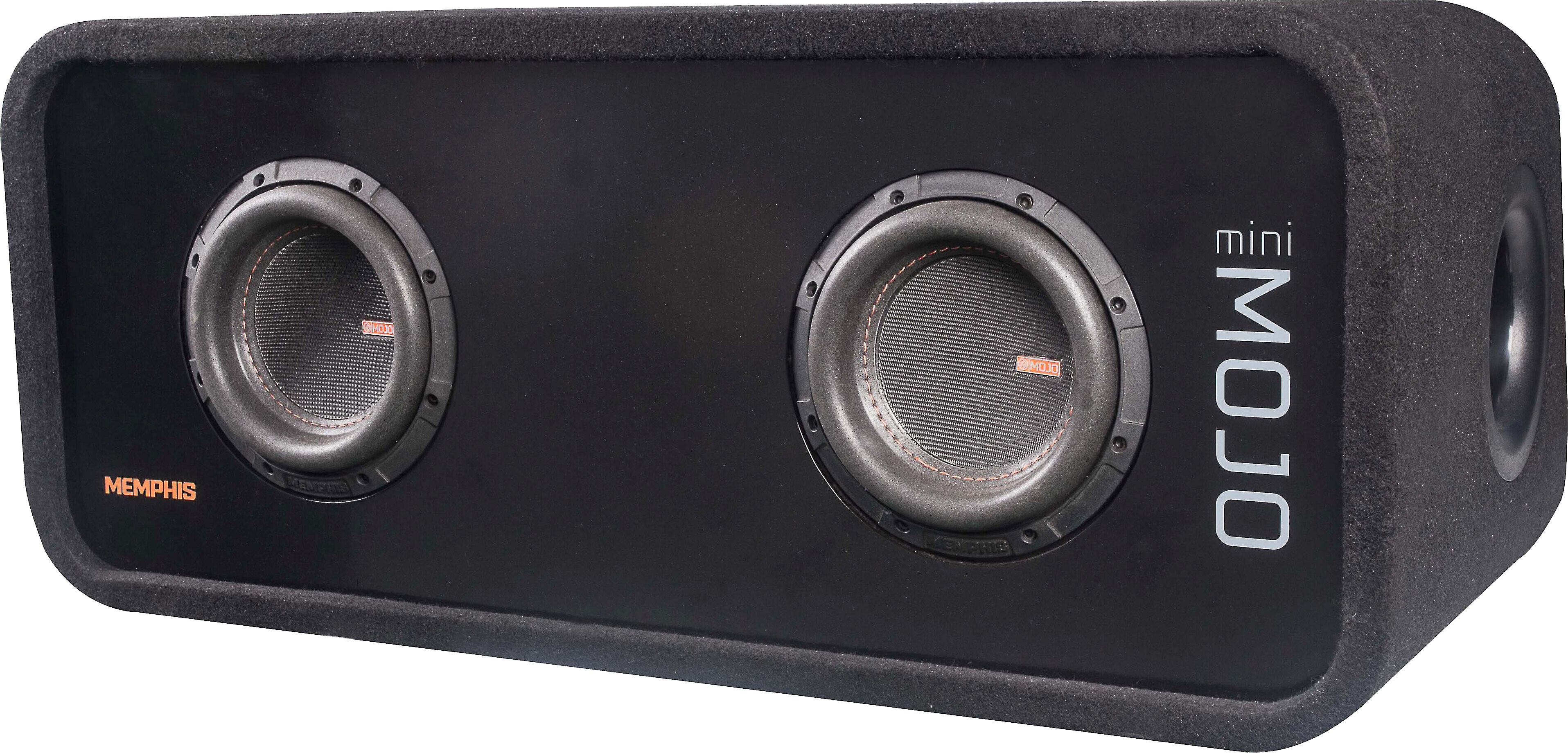 Memphis Audio MJME6S1 6-1//2 Ported Loaded Subwoofer Enclosure